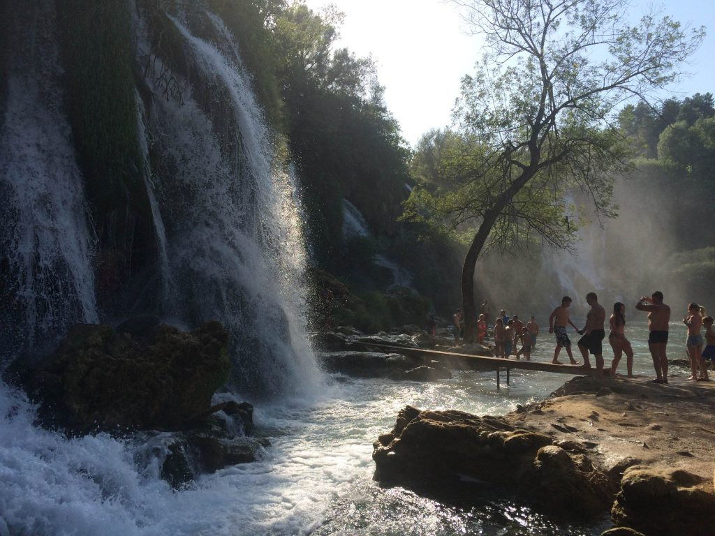 kravice bosnia waterfalls