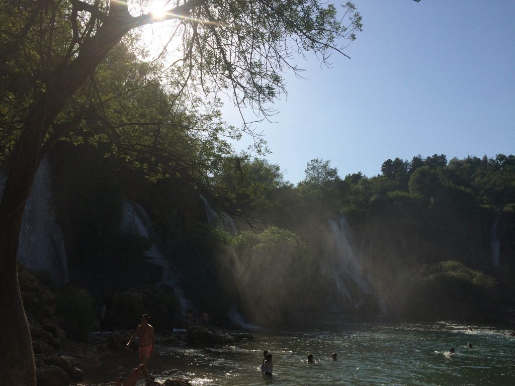 kravice bosnia waterfalls cascatas