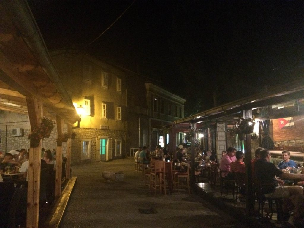 trebinje night